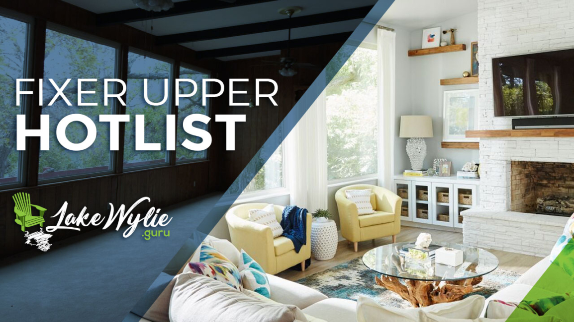 fixer upper on Lake Wylie real estate